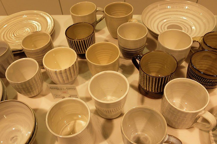 Koishiwara Pottery at DSM Tokyo