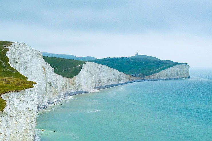 Smell of the sea Beachy Head Sussex