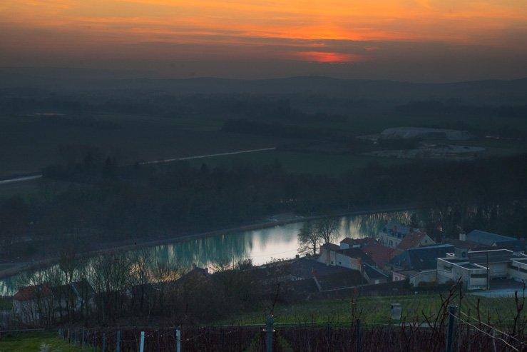 Champagne River Marne