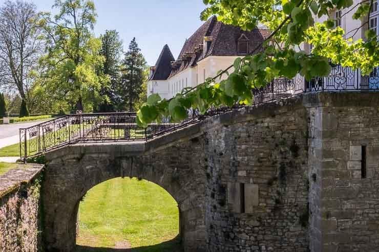 Chateau de Gilly, Burgundy
