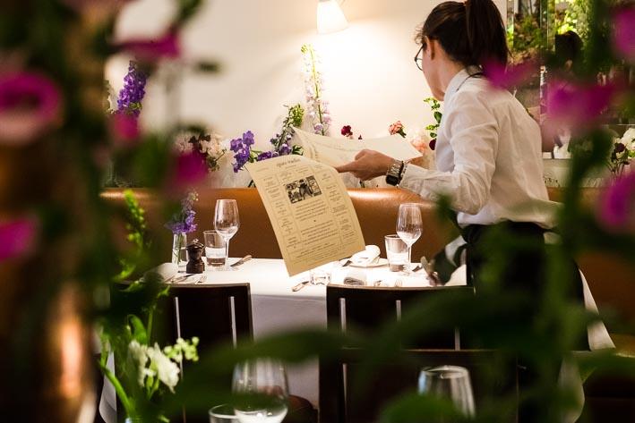Quo Vadis, London, celebrating Chelsea Flower Show