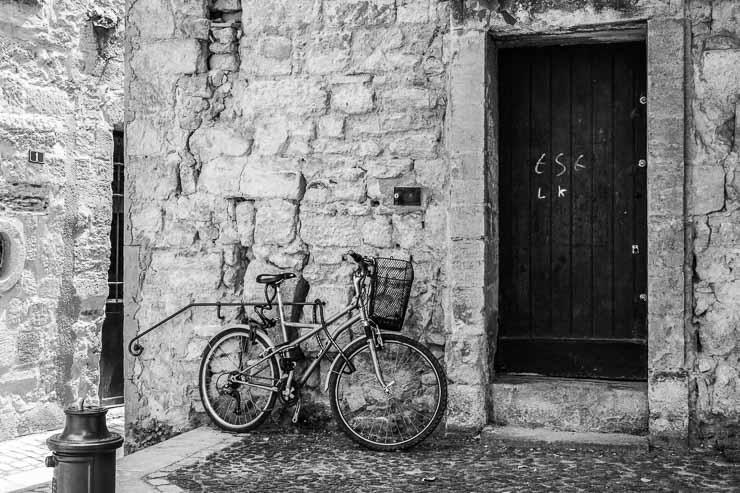 Bicycle, Uzes, Gard, France