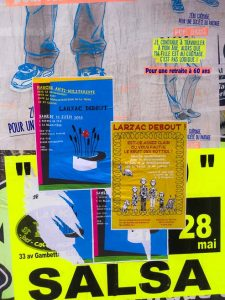 Posters, Millau, France