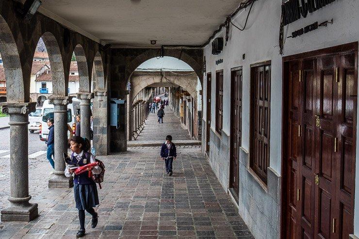 Barrio Ceviche, Plaza de las Armas
