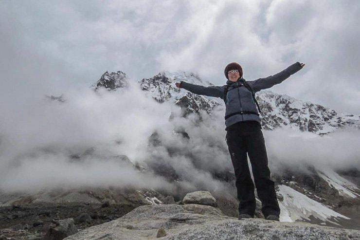 Top of Salkantay Pass, Peru