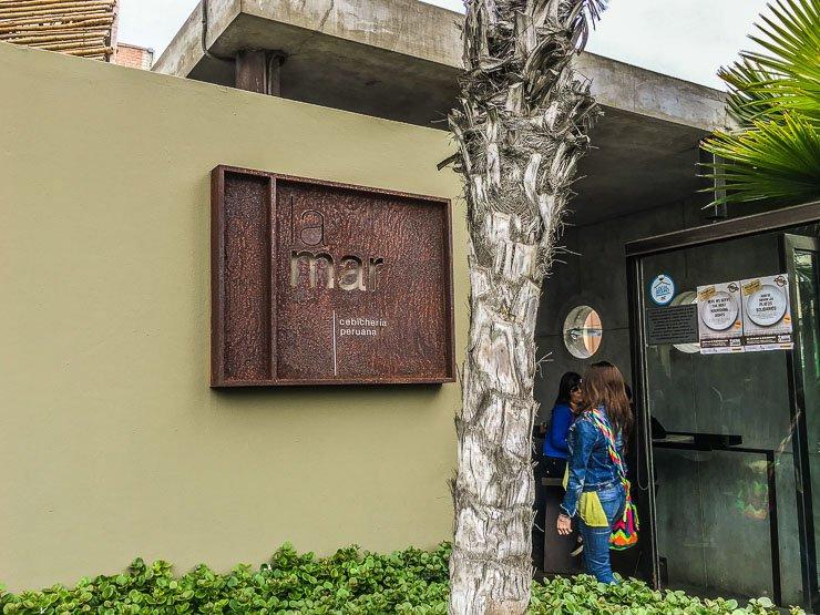 Entrance, La Mar Cebicheria, Lima