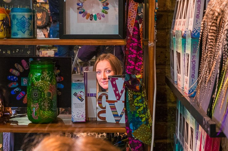 Photograph taken in Camden Lock on the LIoP Street & Documentary photography course