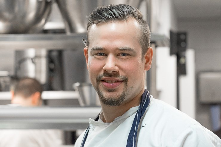 Head shot of Frankie, the Head Chef at Frenchie Covent Garden