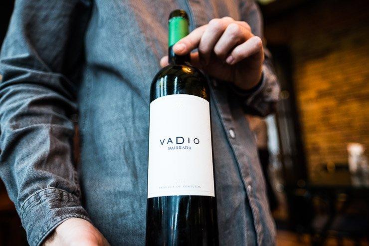 Vadio wine at Taberna do Mercado