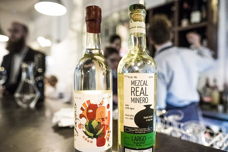 Mezcal from El Jolgoria and Real MInero