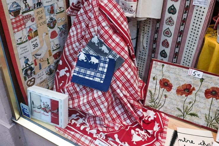 Strasbourg table cloth Hansi