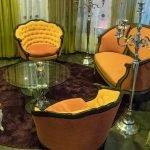 Lobby chairs, Hotel Chambard, Kaysersberg