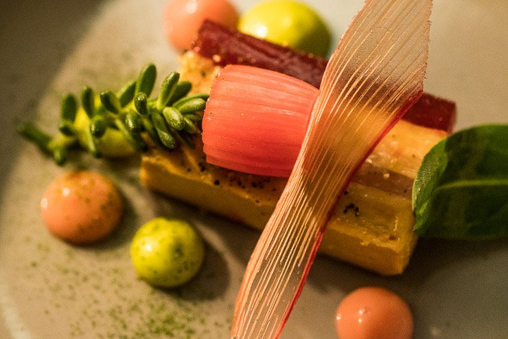 Foie gras & rhubarb, Frenchie Covent Garden, London