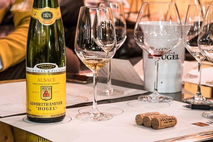 Wine tasting, Famille Hugel