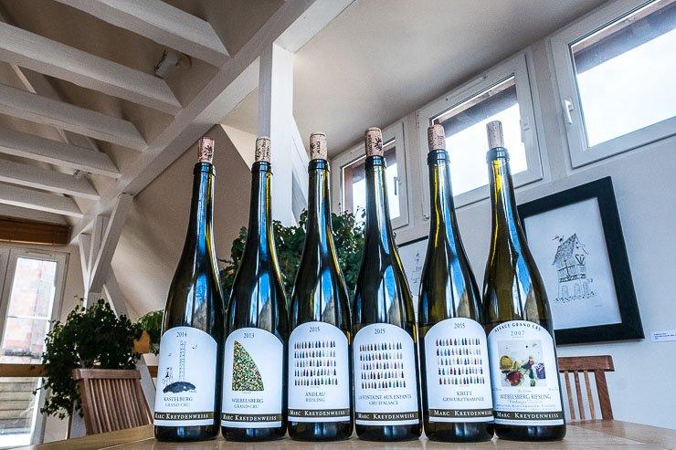 Marc Kreydenweiss bottles