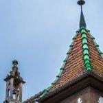 Turret, Obernai, Alsace, France