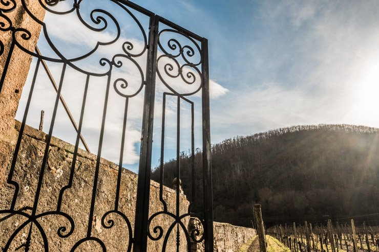 Gate of Domaine Weinbach