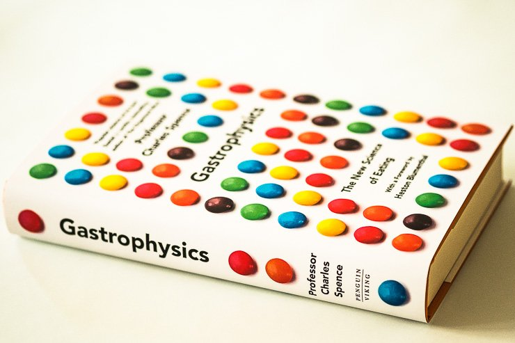 Book, Gastrophysics by Professor Charles Spence