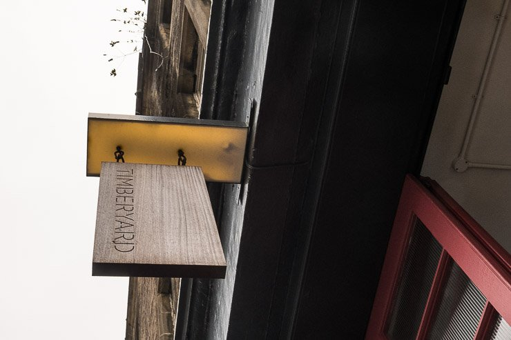 Sign, Timberyard, Edinburgh
