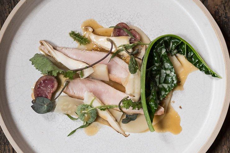 Rabbit, Celeriac, Hazlenut, Pheasant Back, Timberyard, Edinburgh
