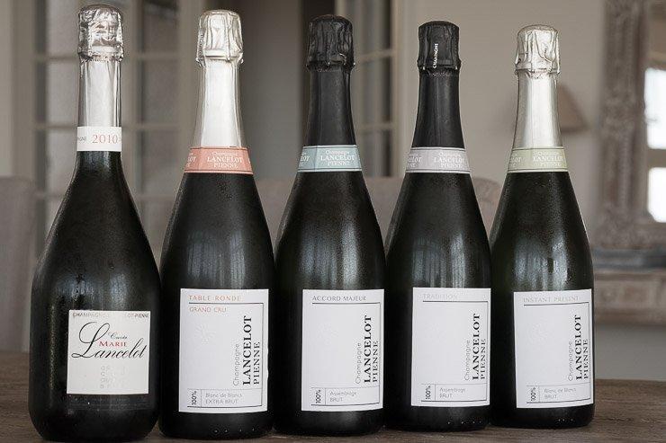 Champagne Lancelot-Pienne cuvees