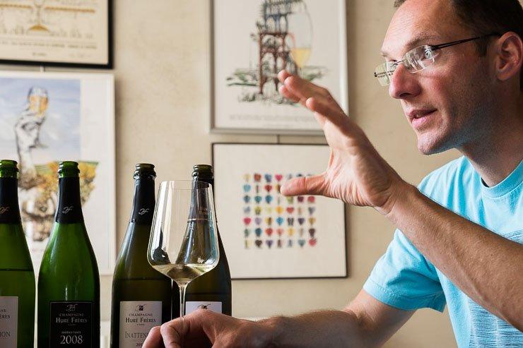 Francois Hure, Champagne