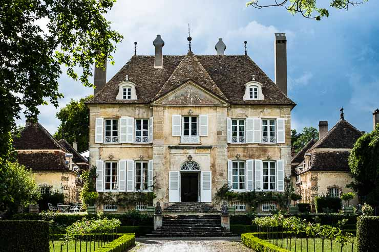 The house at Domaine Chandon de Briailles, Burgundy