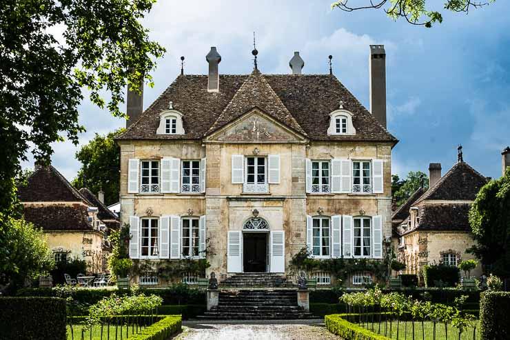 The house at Domaine Chandon de Briailles, Burgundy