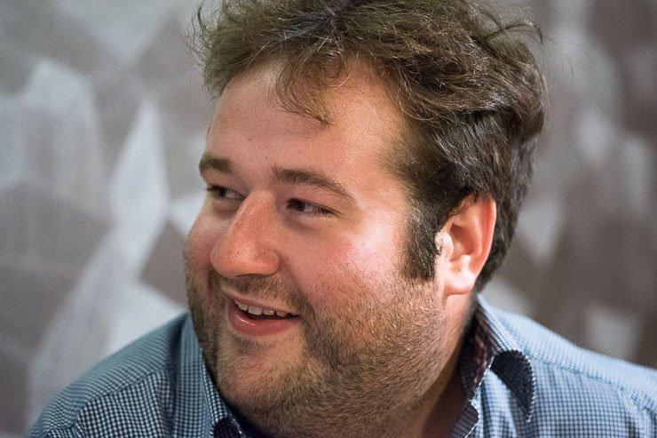 Head shot of Etienne Julien of Domaine Julien, Burgundy