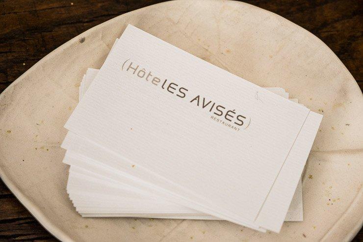 Card Les Avises, Champagne