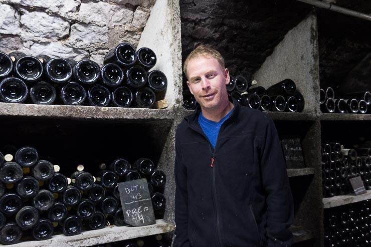 In the cellar, Patrick Piuze, Chablis