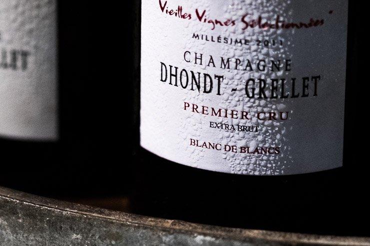 Bottle Dhondt-Grellet champagne