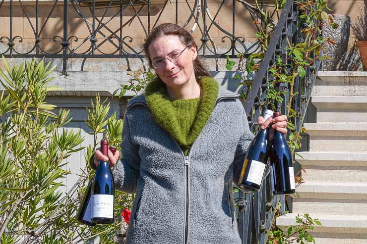 Claire Naudin, wine producer, France