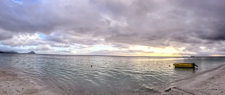 Sunset at Wolmar, Mauritius