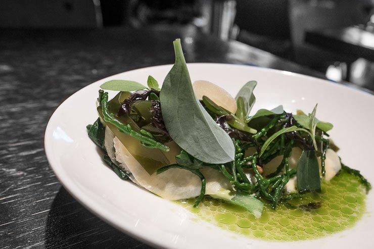 Turnip ravioli, Choux Restaurant, Amsterdam