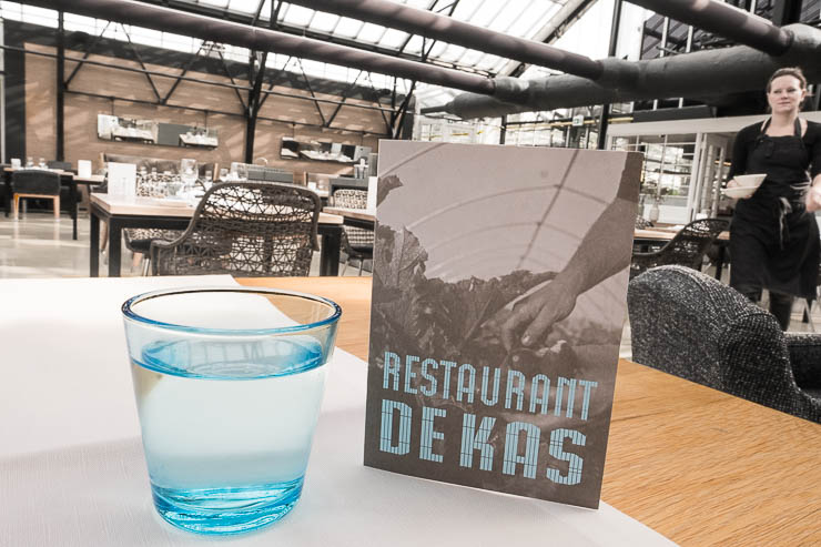 Restaurant De Kas, Amsterdam, logo