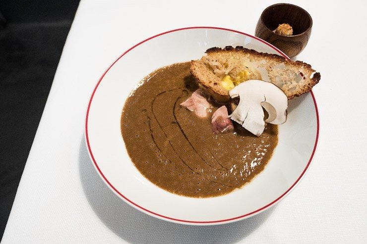 First course, Restaurant Garance, Paris