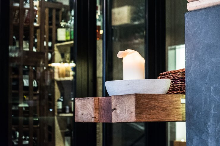 Candle, Restaurant Garance, Paris