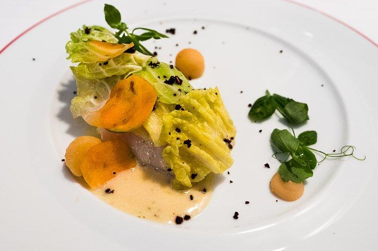 Main fish dish, Restaurant Garance, Paris