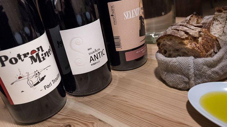 Wine bottles, Teoric Taverna Gastronomica, Barcelona