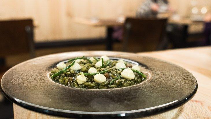 Rice dish, Teoric Taverna Gastronomica, Barcelona