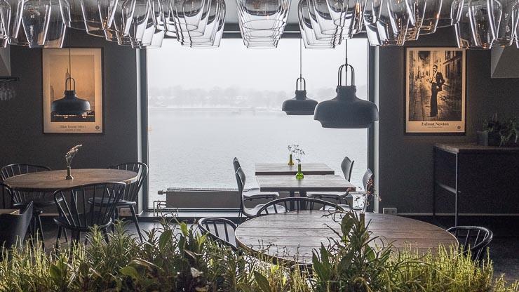 View from restaurant at Fotografiska, Stockholm