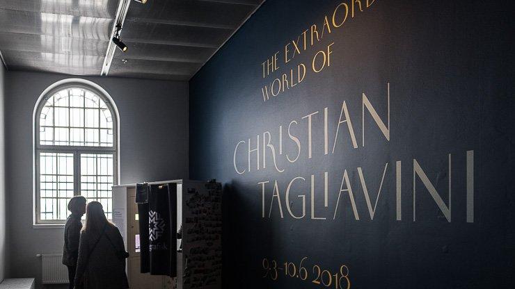 Entrance to Christian Tagliavini exhibition, Fotografiska, Stockholm
