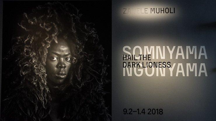 Publicity for Zanele Muholi exhibition, Fotografiska, Stockholm