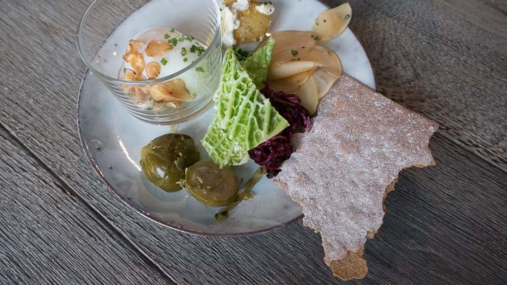 Plate of food, Fotografiska, Stockholm
