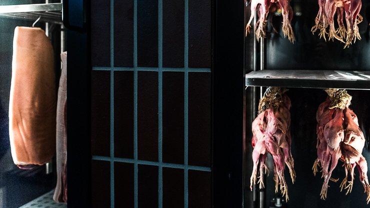 Dry aged meat cabinets, Frantzen