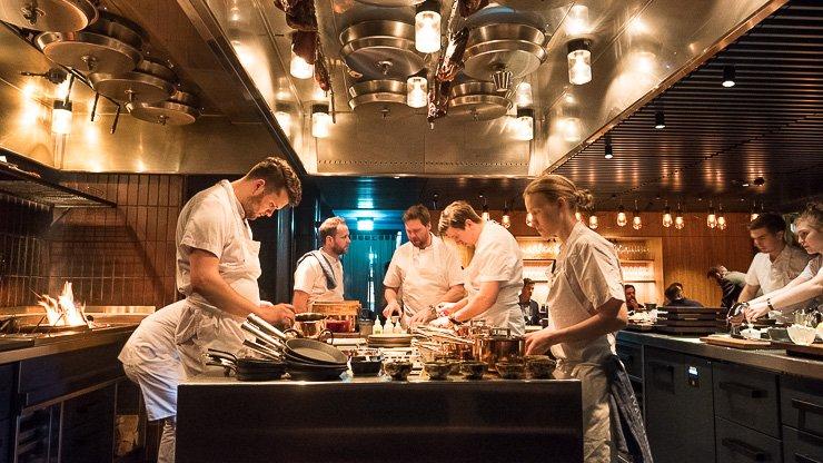 The open kitchen, Frantzen
