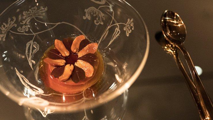 Caramel with foie gras, Frantzen