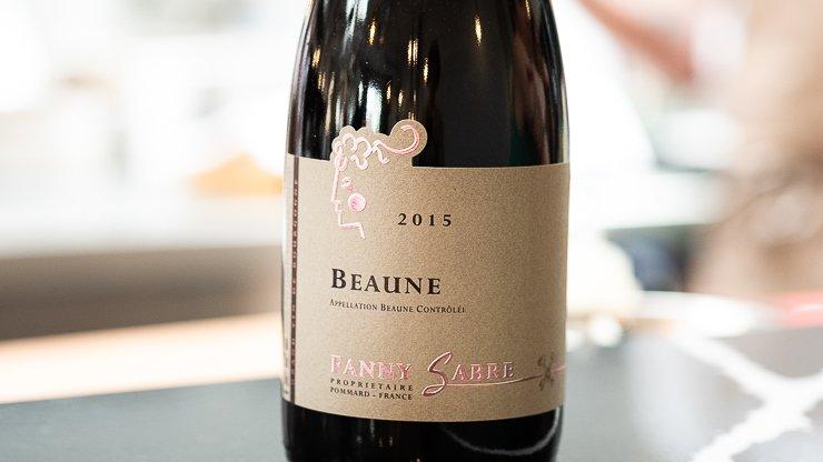 Bottle of wine by Fanny Sabre, Cornerstone