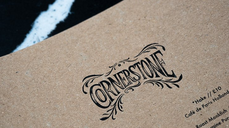 Menu, Cornerstone